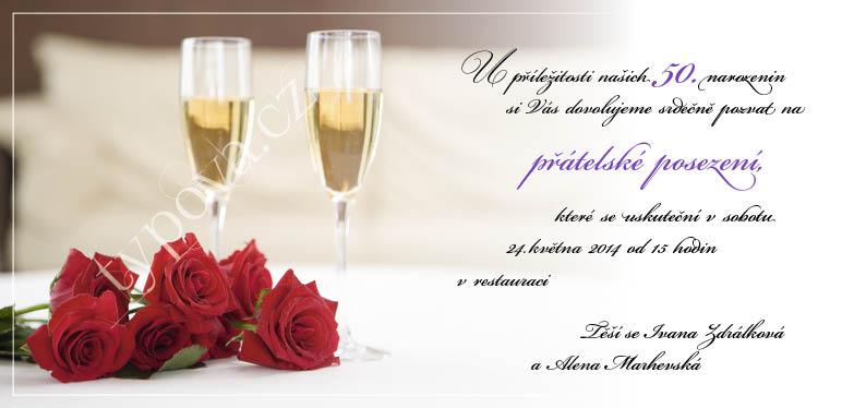 přípitek k narozeninám Narozeninové pozvánky – vzory přípitek k narozeninám